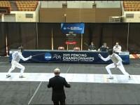 Men's Foil NCAA Championship Bout
