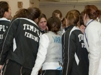 Head coach Nikki Franke is excited about the new additions to Temple's fencing team.