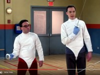 Fencing on the Big Bang Theory